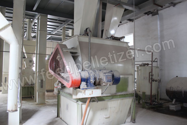feed mixing machine