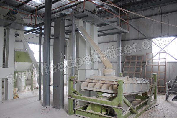 feed pellet grading and sieving machine